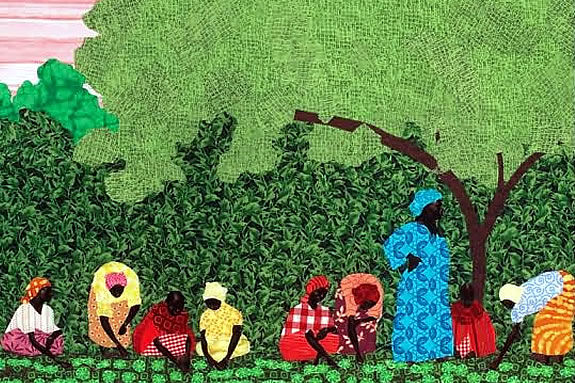 mujer trabajadora africa: