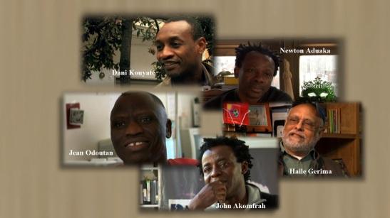 Imaginairs en exil. Cinq cinéastes d'Afrique se racontent